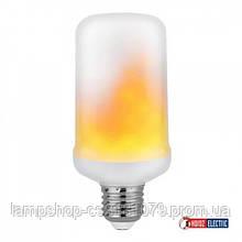 Лампа декоративная с эффектом огня 'FIREFLUX'