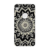 Чохол з малюнком Printed Silicone для Alcatel Shine Lite 5080X Чорний Візерунок