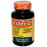 Витамин С (Vitamin C)  Эстер С биофлавоноиды American Health 1000 мг 90 таблеток