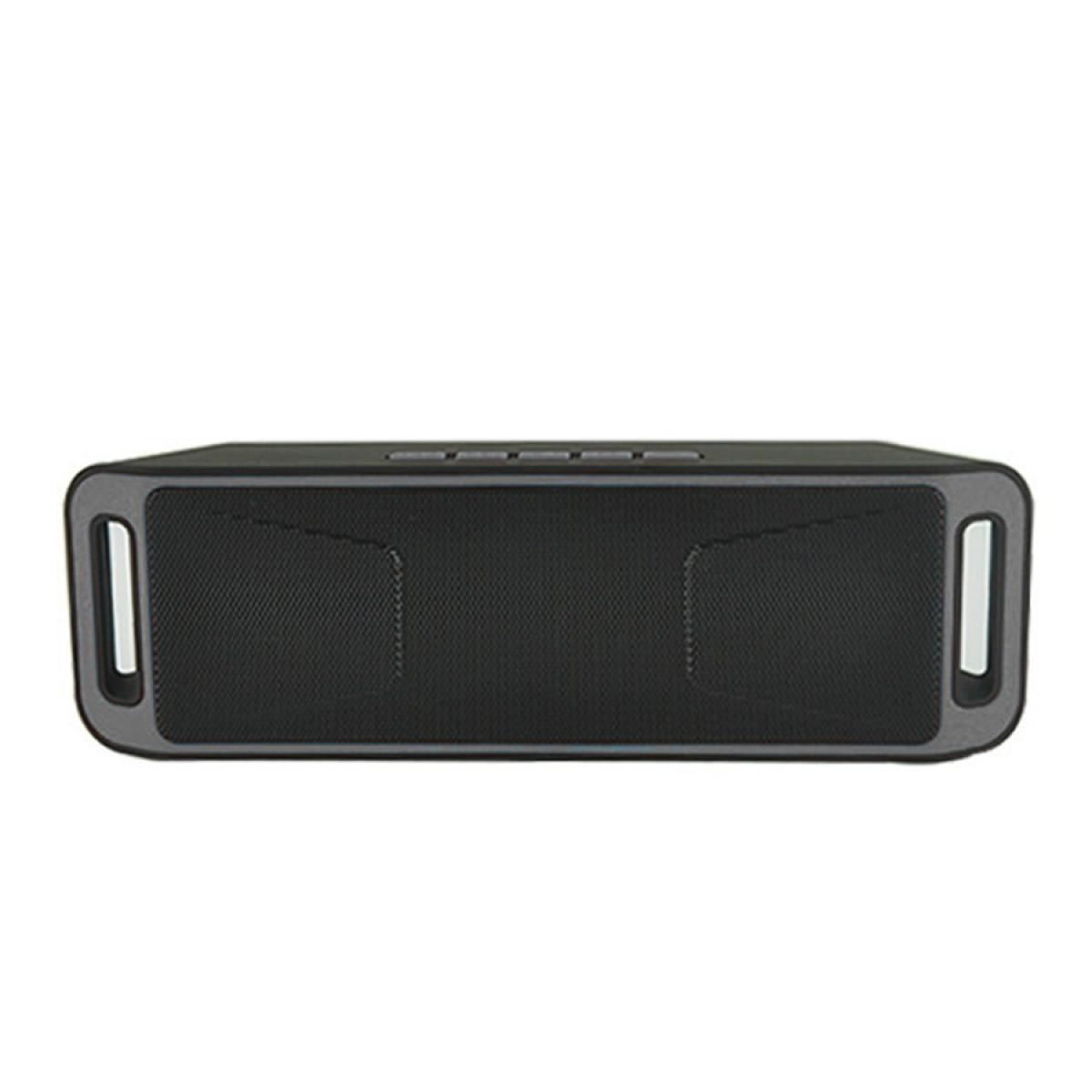 Портативная bluetooth колонка MP3 плеер UKC SC-208 BT Grey