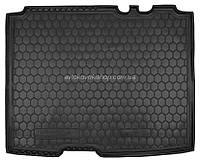 Резиновый коврик в багажник Ford Tourneo Connect 2014- (короткая база) Avto-Gumm