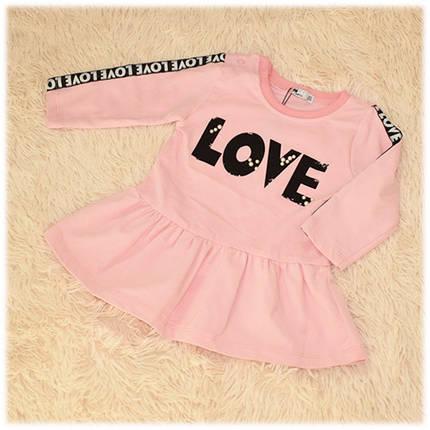 Детское нарядное платье для девочки размер 74 80, фото 2