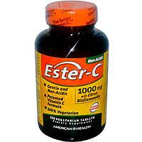Витамин С (Vitamin C)  Эстер С биофлавоноиды American Health 1000 мг 120 таблеток
