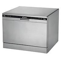 Посудомоечная машина Candy CDCP 6/ES /А+/55см/6 компл./ 6 программ/конденс./LED iндикацiя/Срiблястий