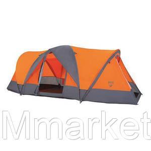 Палатка туристическая 68003 (480*210*165 см), 4-местная, антимоскитная сетка, сумка