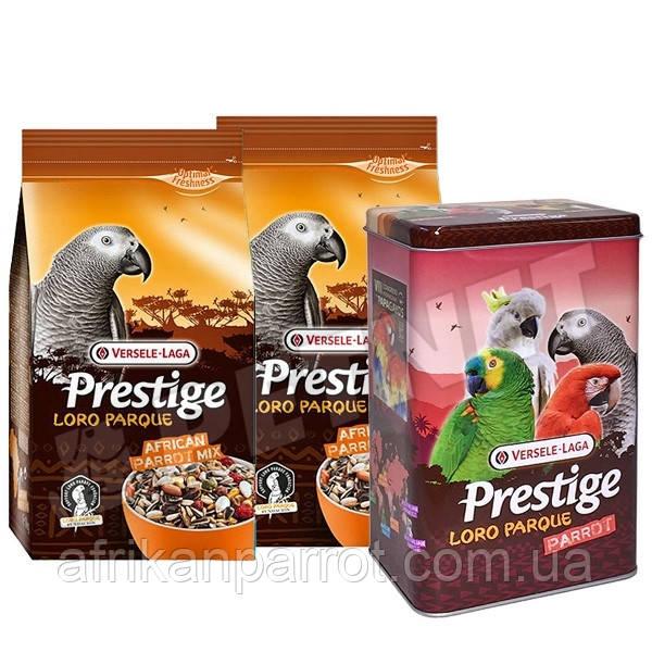 Versele-Laga Prestige African Parrot Loro Parque Mix Корм для крупного попугая