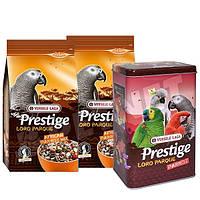 Versele-Laga Prestige African Parrot Loro Parque Mix Корм для крупного попугая , фото 1