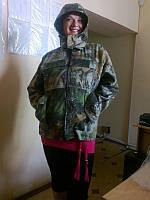 Куртка камуфлированная с капюшоном