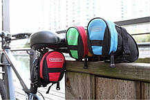 Подседельная велосипедная сумка для велосипеда (велосумка под седло), фото 3