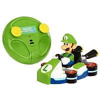 Антигравитационная (ездит по стенам) машинка Луиджи  - Luigi, Wall Climber, Nintendo, Jakks Pacific