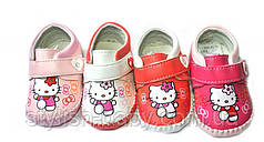 Детские пинетки ТМ. LiLin Shoes для девочек оптом (разм. с 15 по 19)