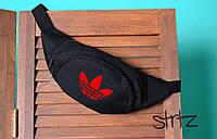 Черная модная барыжка/бананка/кондукторка адидас Adidas реплика
