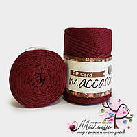 Шнур для вязания Maccaroni PP Cord, 932, бордо