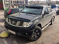 Козырек на лобовое Nissan Navara (2006+)