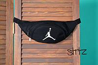 Активная баскетбольная бананка майкл джордан Jordan черная реплика, фото 1