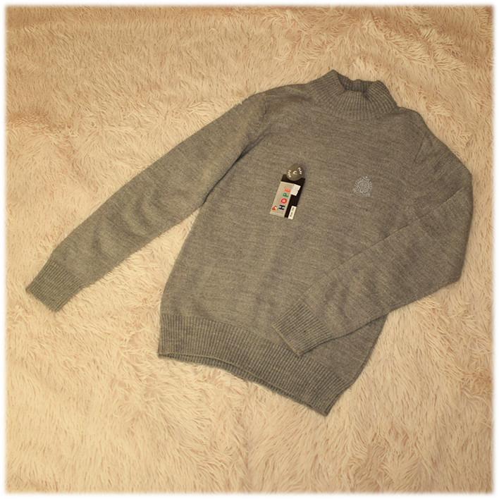 Свитер для мальчика серый Турция размеры 158 164