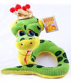 Мягкая игрушка Змея 24 см А5-284