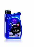 Трансмиссионное масло в механическую коробку передач МКПП и редукторов ELF TRANSELF NFJ 75W80 GL-4+ 1L