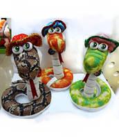 Мягкая игрушка Змея в шляпе 24 см А7-8015 В