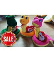 Мягкая игрушка змея 1233-22