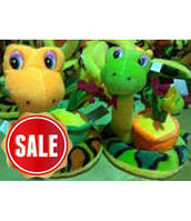 Мягкая игрушка змея 1241-22
