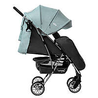 Коляска прогулочная CARRELLO Gloria CRL-8506/1 Mint Green, резиновые колеса, дождевик