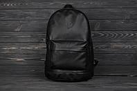 Рюкзак городской экокожа/кожзам черный, фото 1