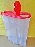 Ёмкость для сыпучих продуктов 1,8л, фото 2