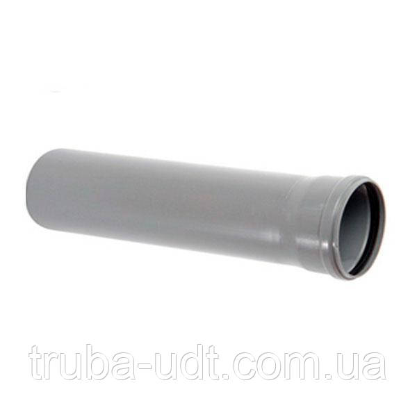 Труба канализация Kvantex ПВХ с раструбом  110 х 2.2 х 2000