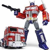Классический трансформер Оптимус Прайм 32 см с набором аксессуаров - Optimus Prime, Masterpiece, WeiJiang