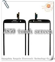 Сенсор (тачскрин) стекло для смартфона Lenovo A850 black