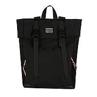 Черный рюкзак средний, фото 1