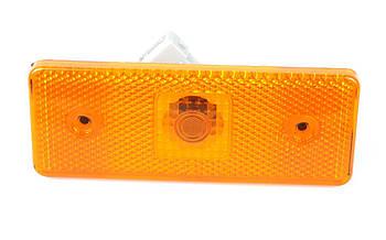 Фонарь боковой (габарит) MB Sprinter/VW LT 96-06 (желтый) (304002) SOLGY