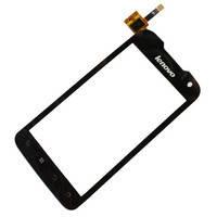 Сенсор (тачскрин) стекло для смартфона Lenovo P700i black