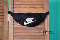 Текстильная бананка найк Nike черная реплика