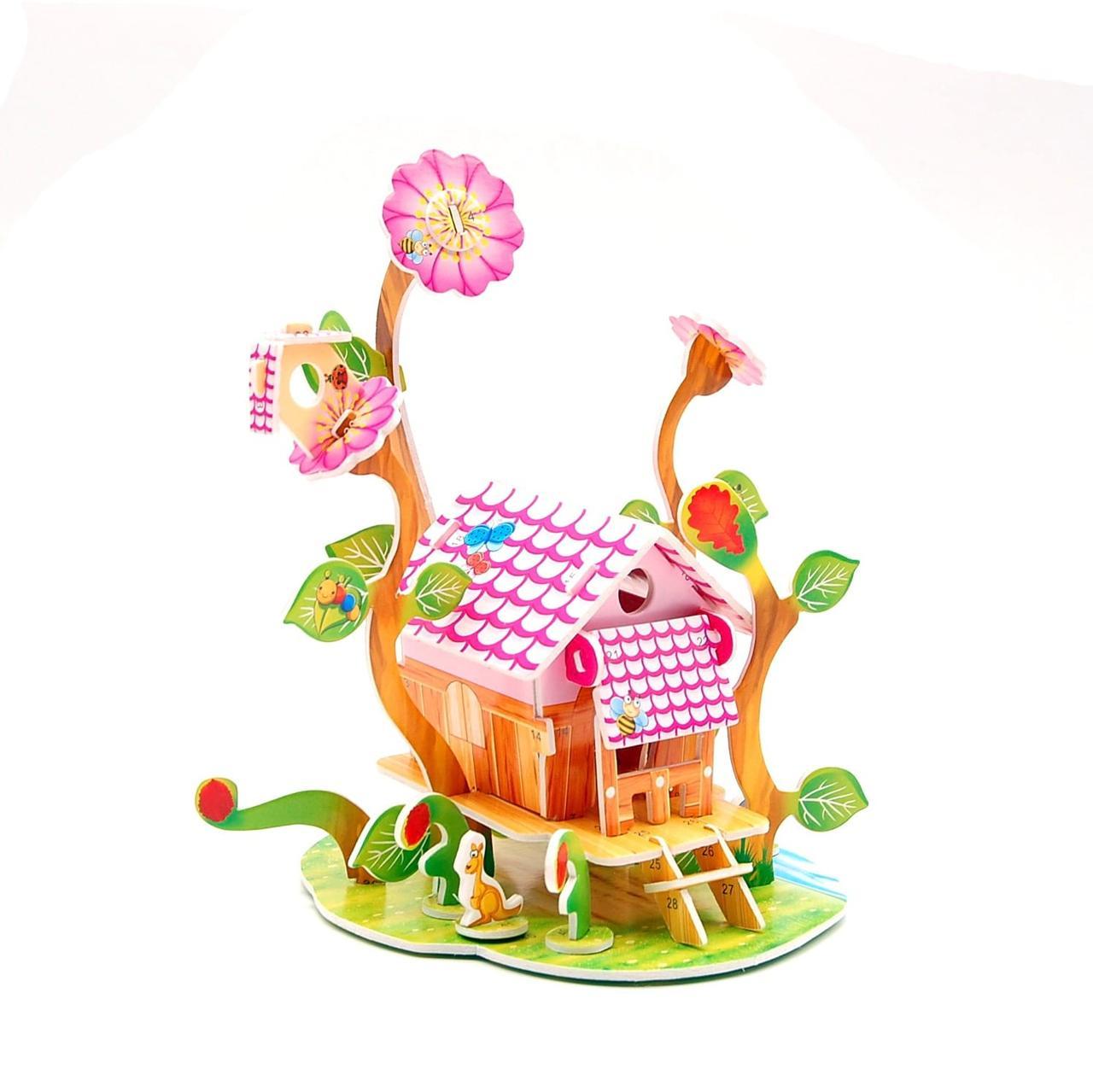 3D Пазл MINI Zilipoo Чудесная теплица (689-S)