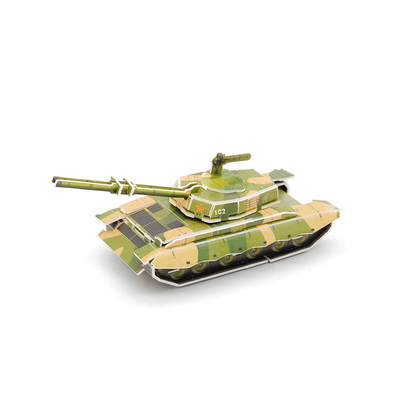 3D Пазл MINI Zilipoo Танк (689-C)
