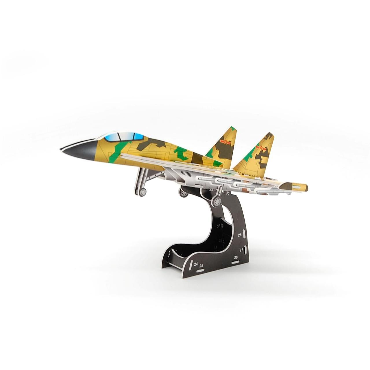 3D Пазл MINI Zilipoo Истребитель (689-D)