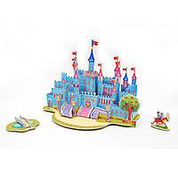 3D Пазл Zilipoo Голубой дворец (589-I), фото 1
