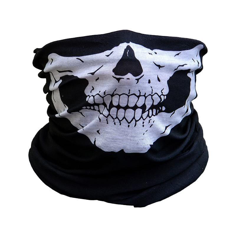 Маска балаклава с черепом Skull черная (MB-3327)