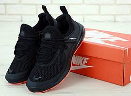 Мужские летние кроссовки Nike Air Presto Black Gum