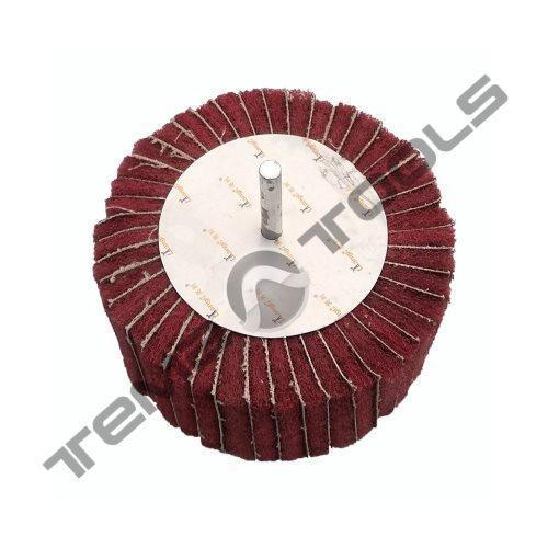 Круг лепестковый КЛО 40x30x6 скотч брайт SB Red Combi зачистной