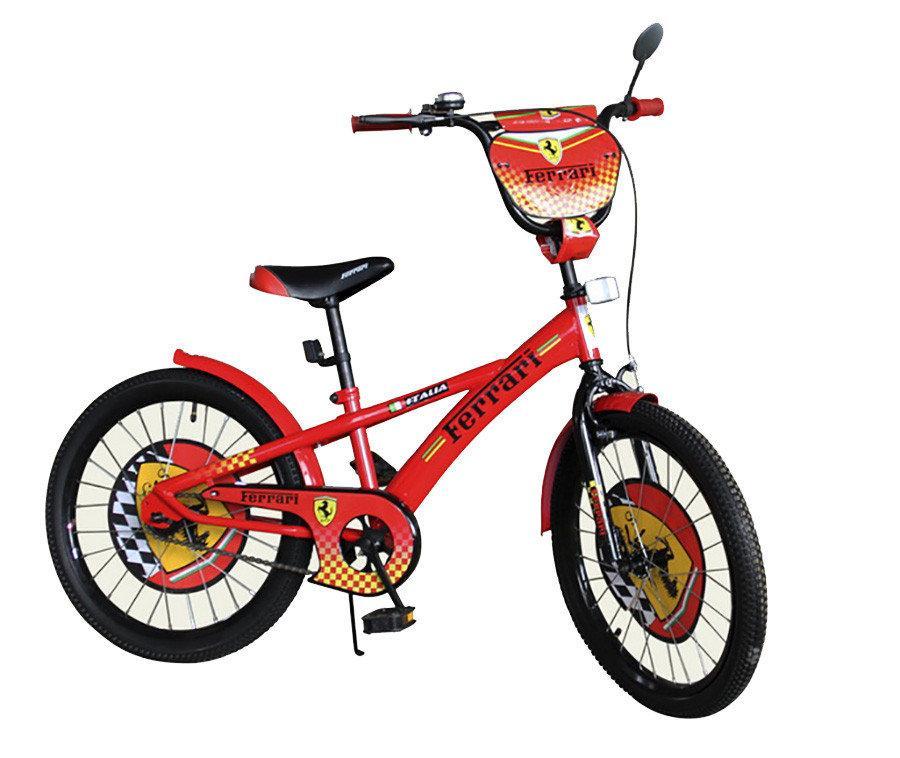 Велосипед дитячий двоколісний 18 дюймів Ferrari 171805