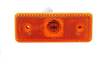 Фонарь боковой (габарит) MB Sprinter/VW LT 96-06 (желтый) LED (0028206456) ROTWEISS