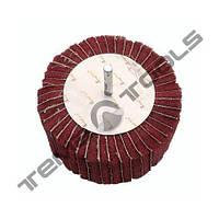 Круг лепестковый КЛО 100x50x6 скотч брайт SB Red Combi зачистной