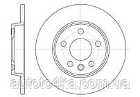 Диск тормозной задний AutoMega 120038710