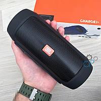 Портативная Bluetooth-колонка JBL Charge 2+ Черная, фото 1