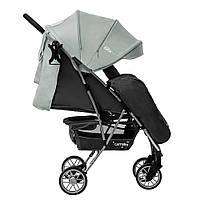 Коляска прогулочная CARRELLO Gloria CRL-8506/1 Olive Green, резиновые колеса, дождевик
