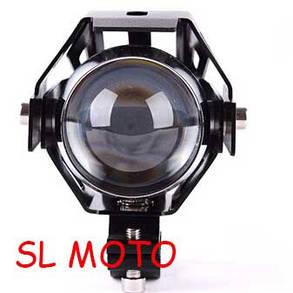 Дополнтельная светодиодная фара SL MOTO в мотоцикл 15W  1500 LUMEN Cree. дальний свет, фото 2