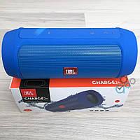 Портативная Bluetooth-колонка JBL Charge 2+  Синяя, фото 1